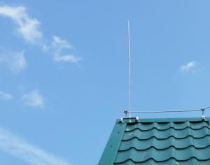 Внешняя защита от ударов молний жилого здания