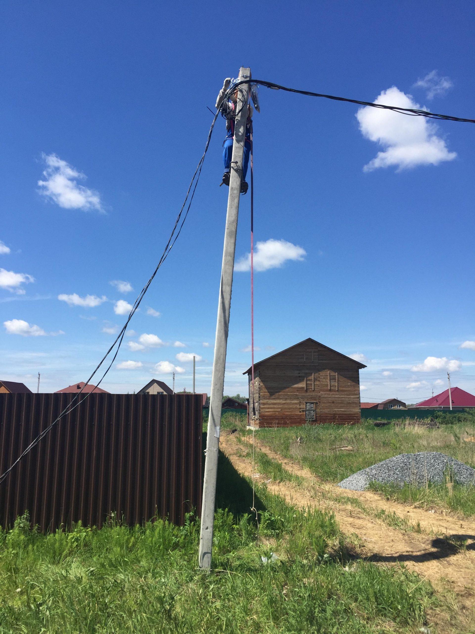 Монтаж ТП в коттеджном поселке