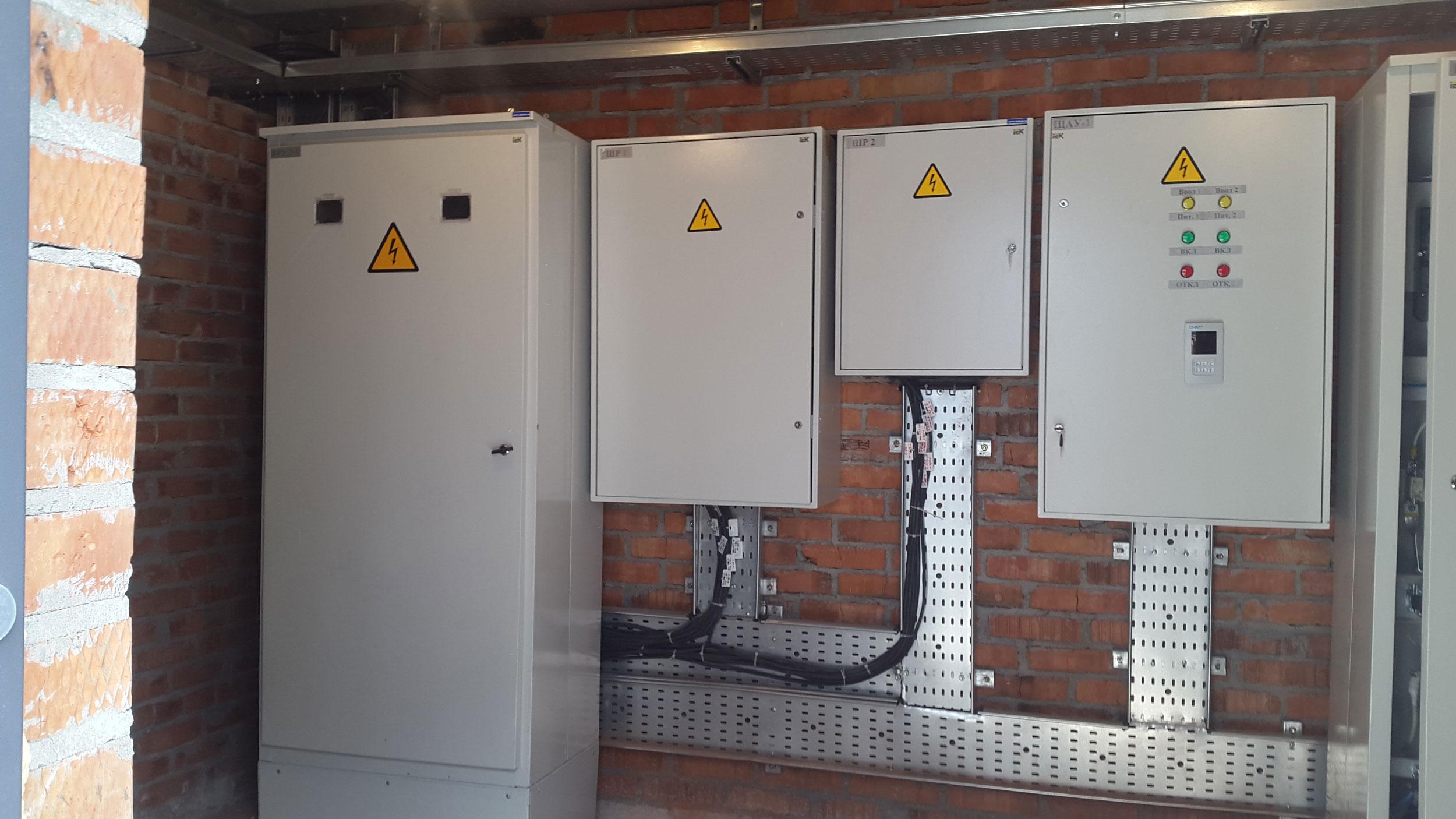 Монтаж электрощитовой для NL International