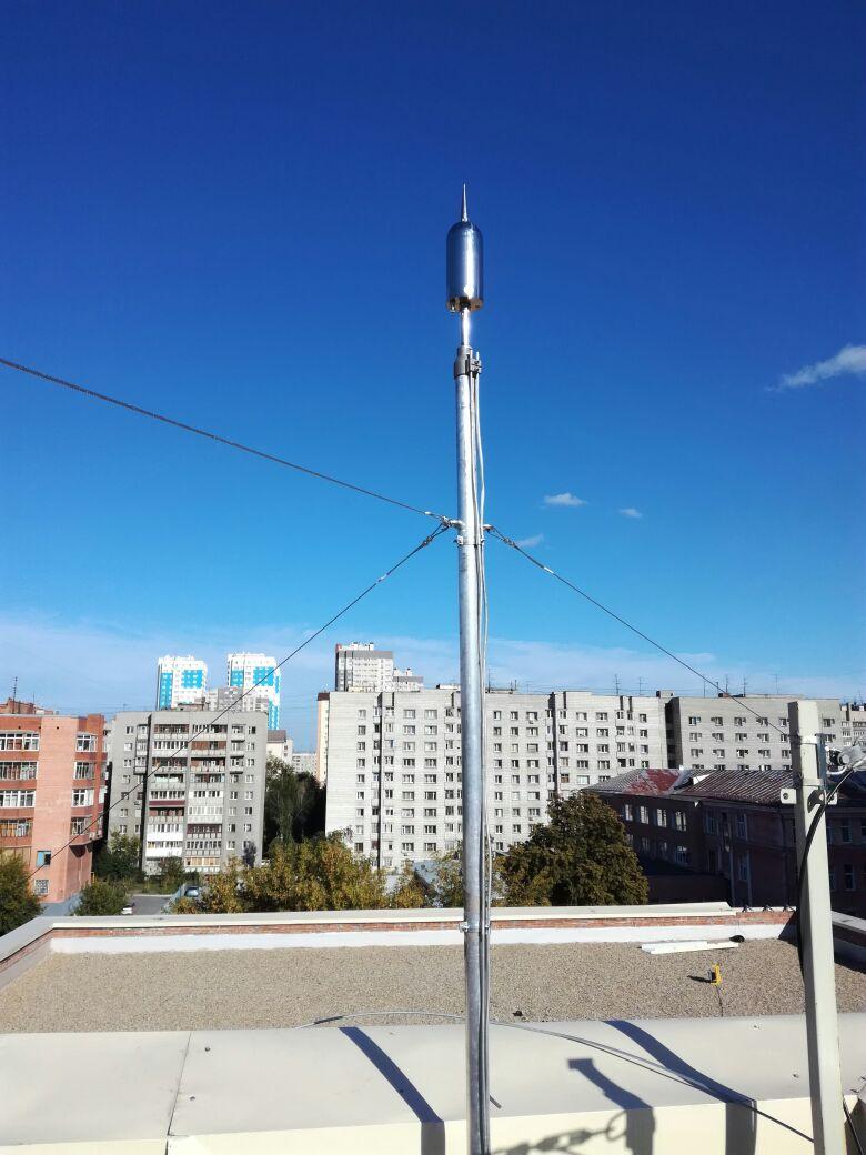 Монтаж молниезащиты в Новосибирске