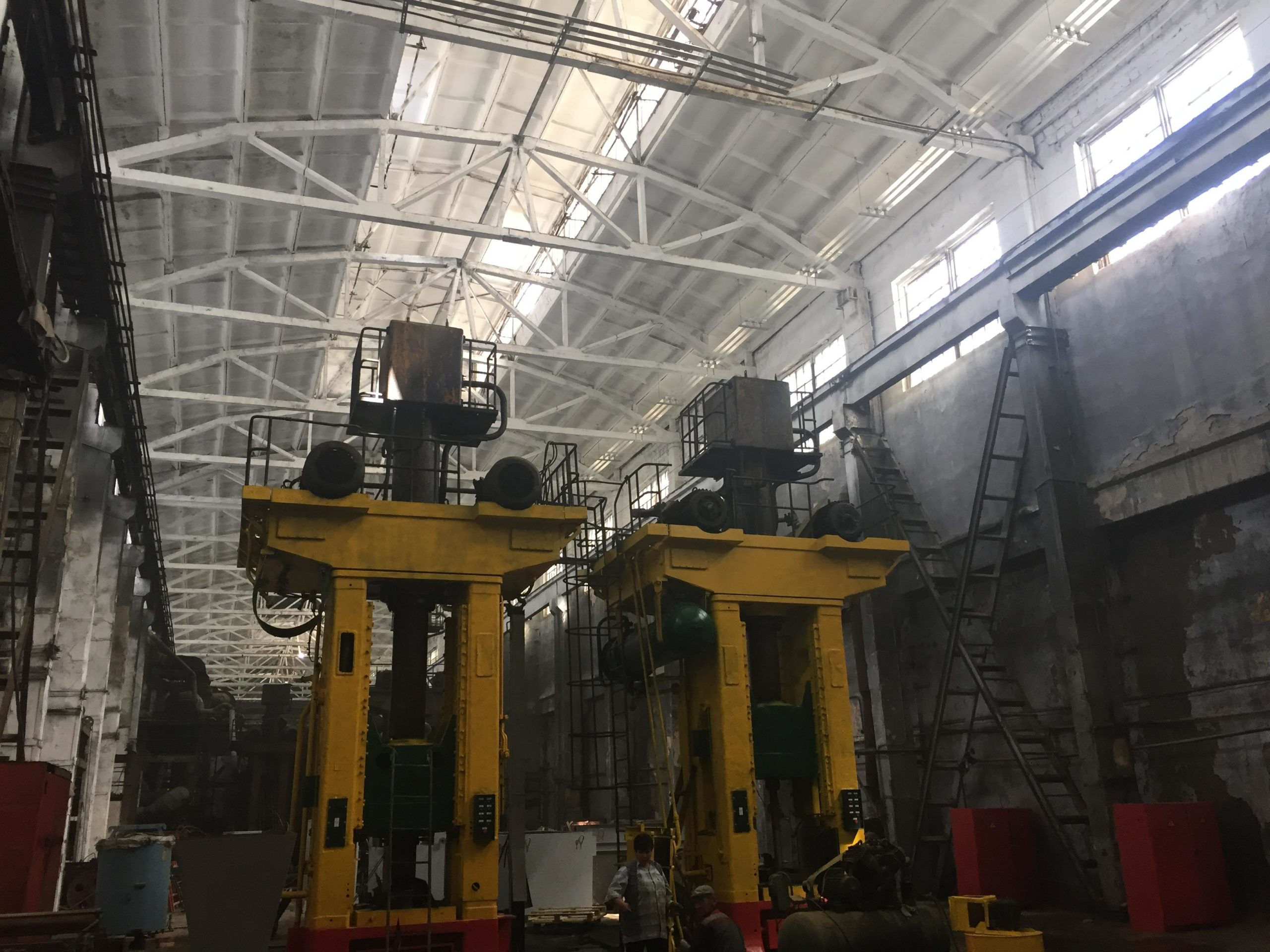 Реконструкция электроснабжения завода Сибтекстильмаш