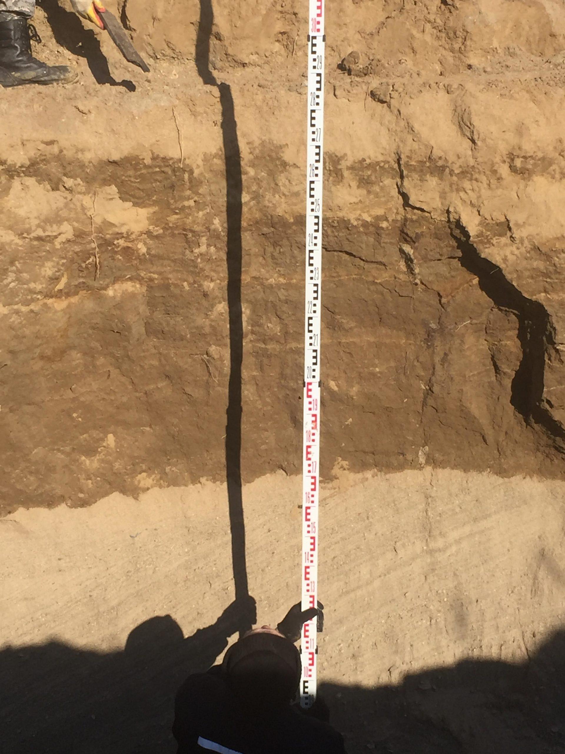 Углубление оптического кабеля на глубину более 4 м
